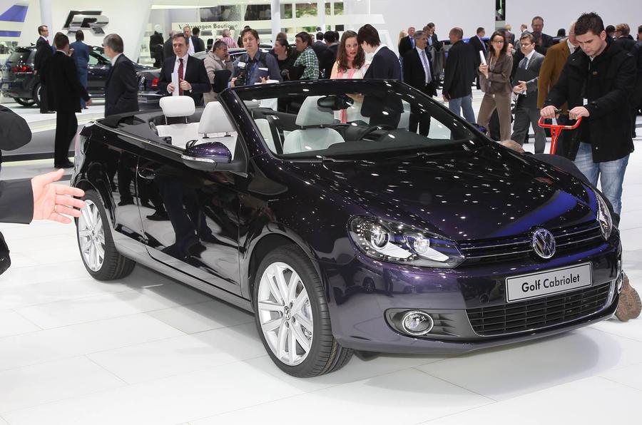 Geneva motor show: VW Golf cabrio