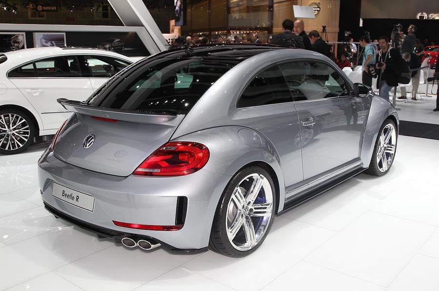 LA show: Volkswagen Beetle R