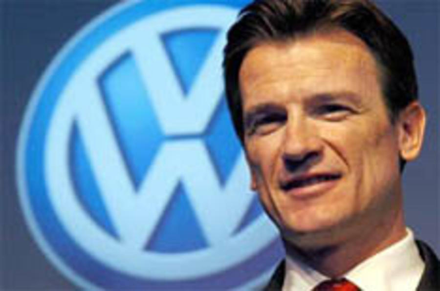 VW brand chief Bernhard may quit