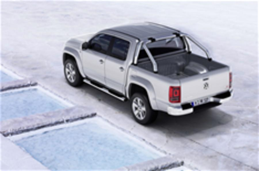 VW Amarok pick-up for UK