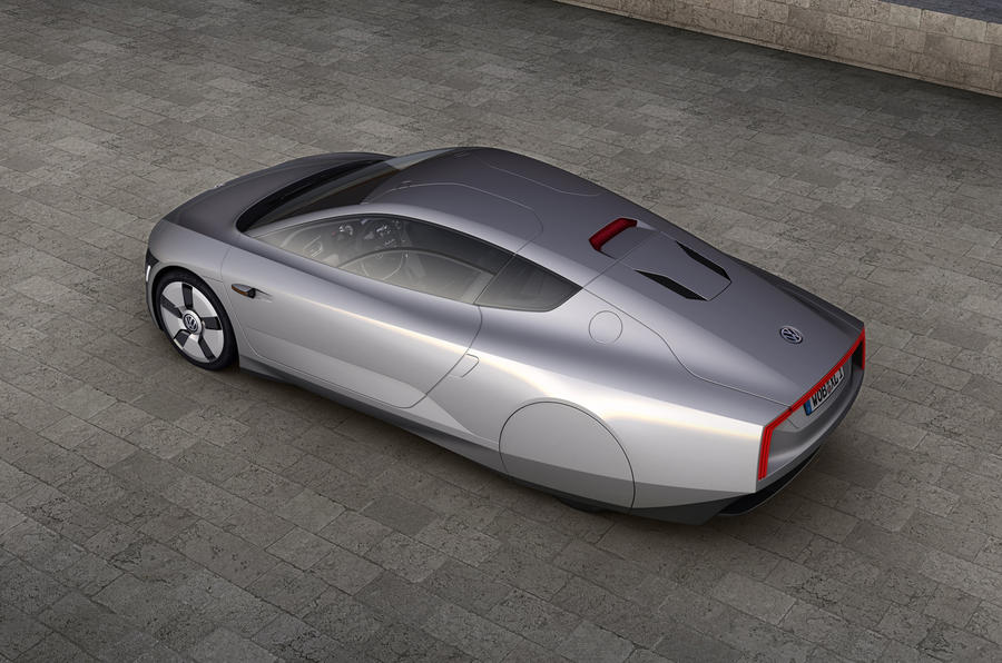 Vw Reveals New 300mpg Coupe Autocar