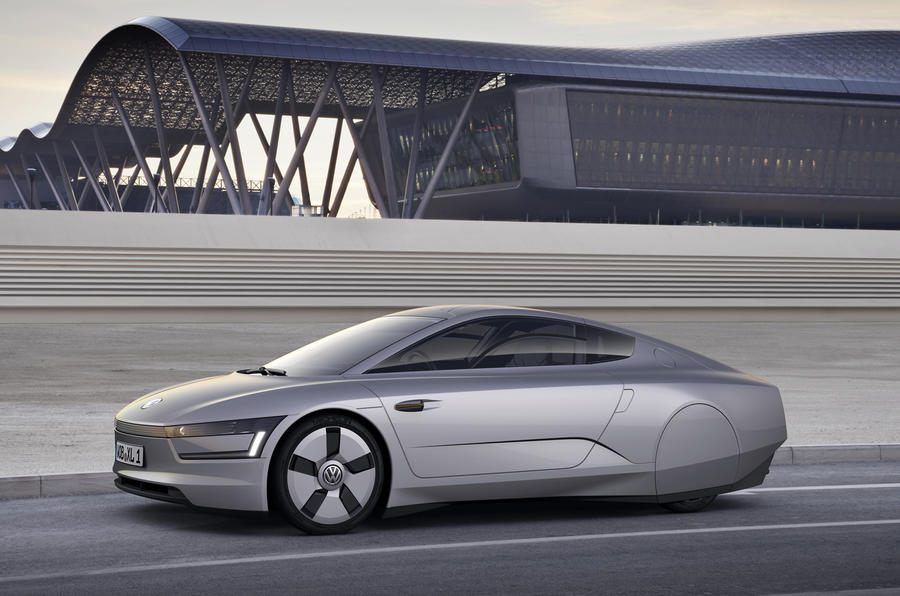 VW reveals new 300mpg coupe