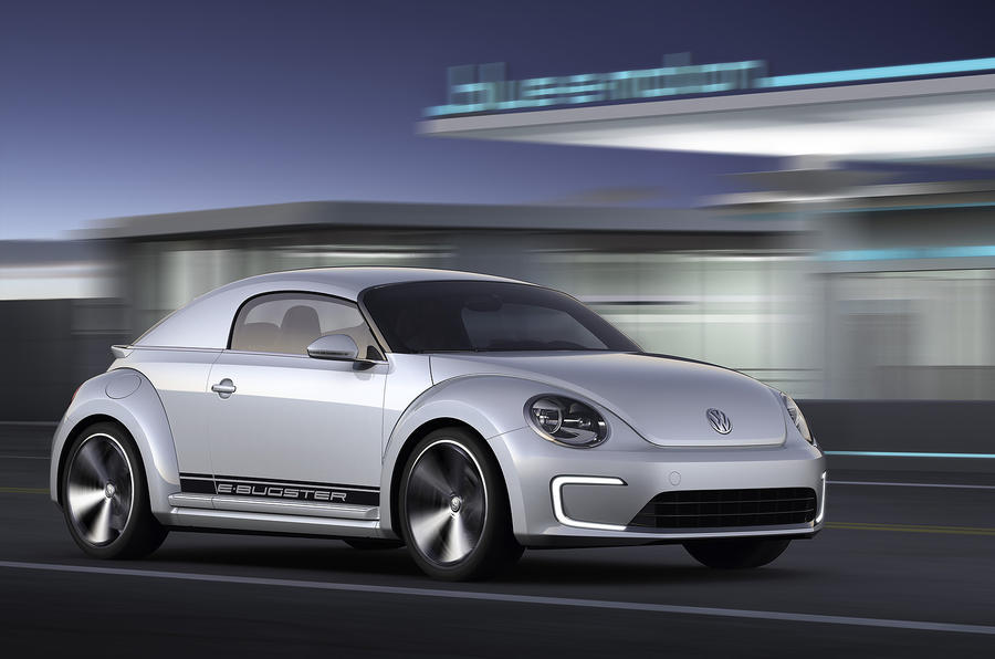 Detroit motor show: VW E-Bugster