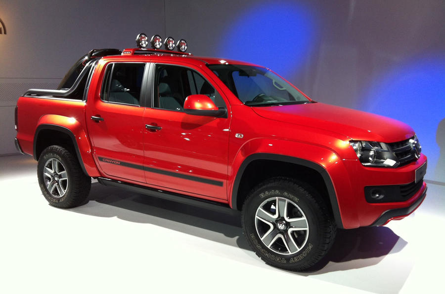 sao paulo motor show 2012 volkswagen amarok canyon autocar. Black Bedroom Furniture Sets. Home Design Ideas