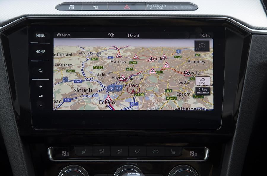 Volkswagen Arteon infotainment system