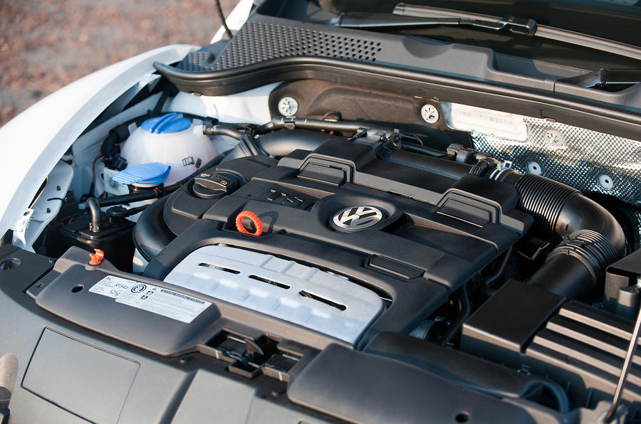 Volkswagen Beetle TSI petrol engine