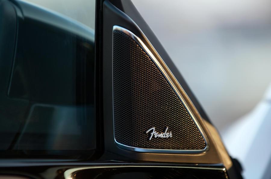 Volkswagen Beetle Fender sound system