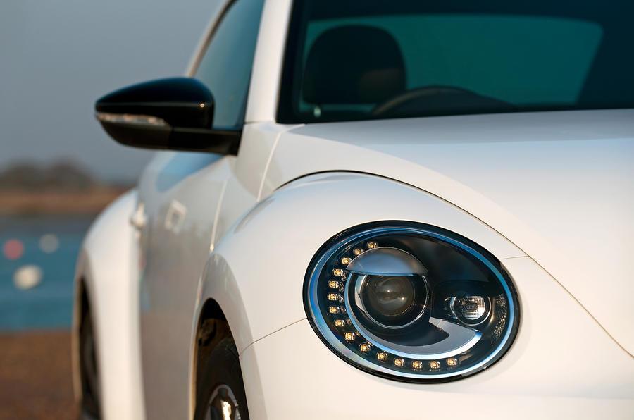Volkswagen Beetle headlight