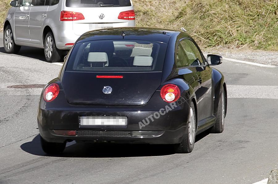 Next VW Beetle - new pics