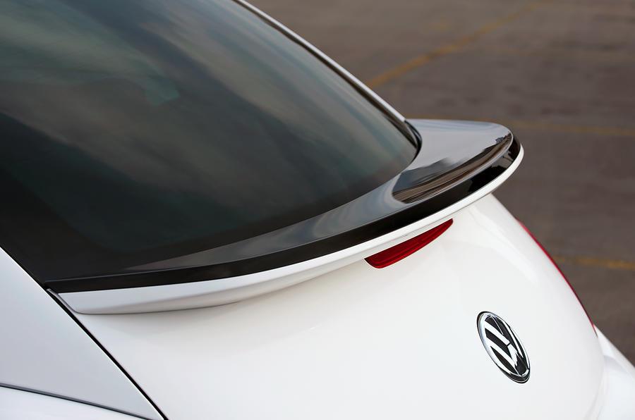 Volkswagen Beetle rear spoiler