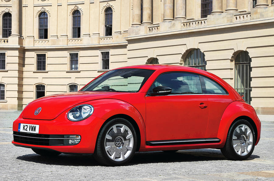 New VW Beetle from £16,490