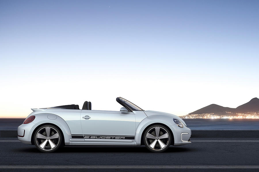 Beijing show: VW E-Bugster Cabriolet