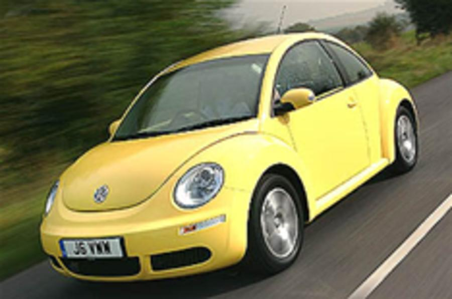 VW to launch new Beetle in 2012