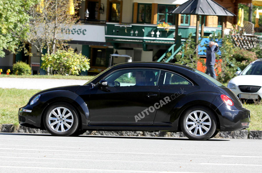 New VW Beetle - first pics