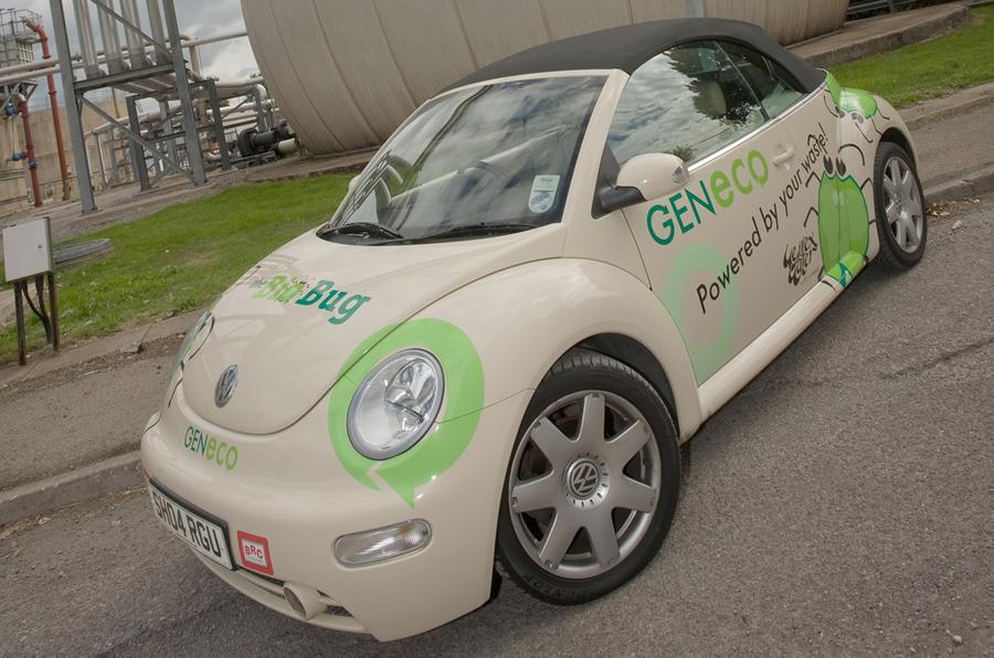 Human waste-powered Beetle