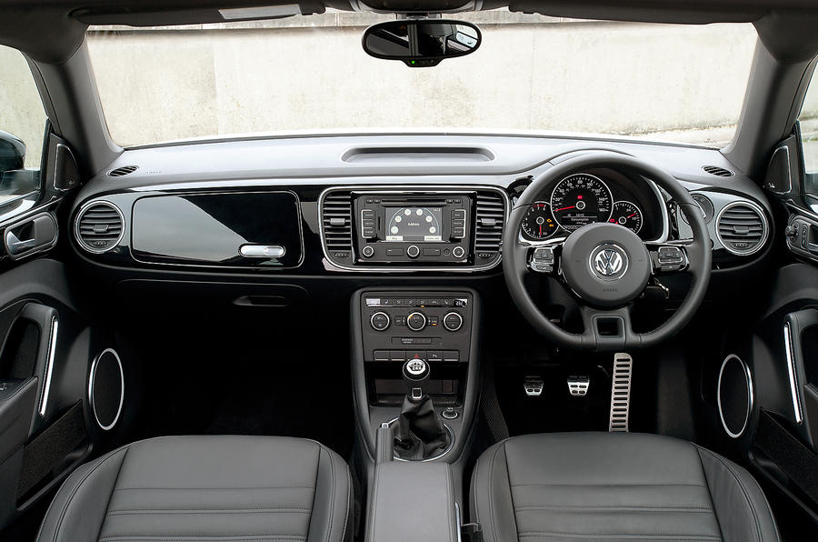 Volkswagen Beetle dashboard