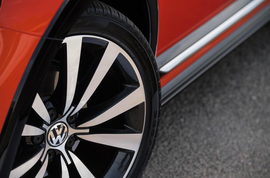 Volkswagen Beetle alloy wheels