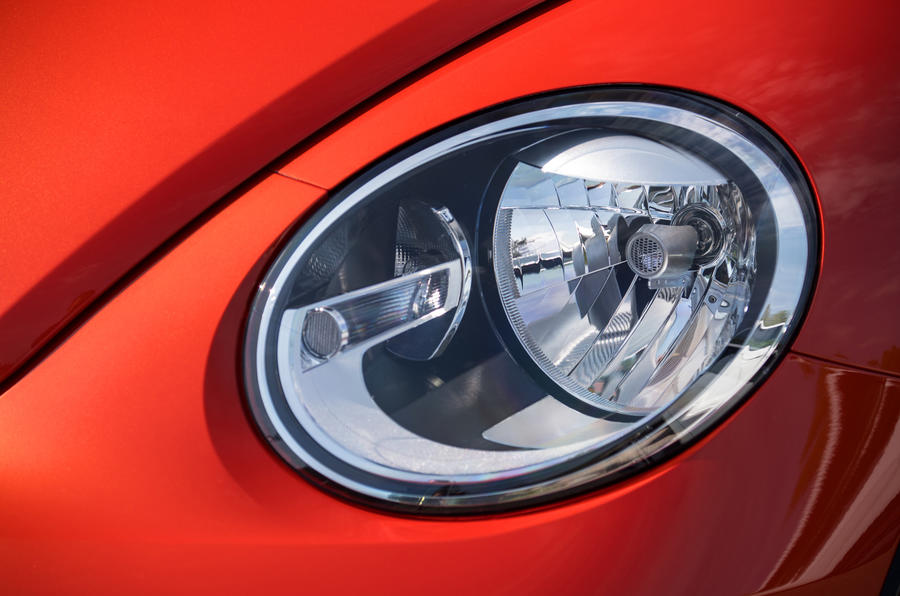 Volkswagen Beetle headlights