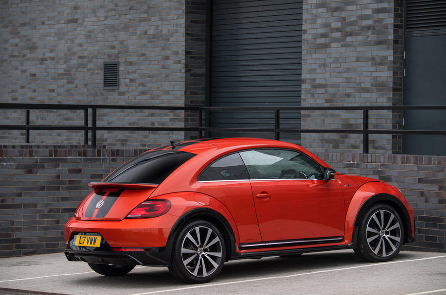 Volkswagen Beetle rear quarter