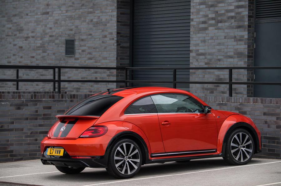 Volkswagen Beetle rear quarter
