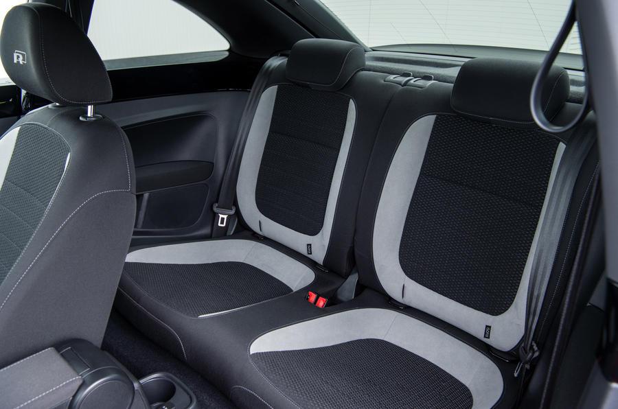Volkswagen Beetle rear seats