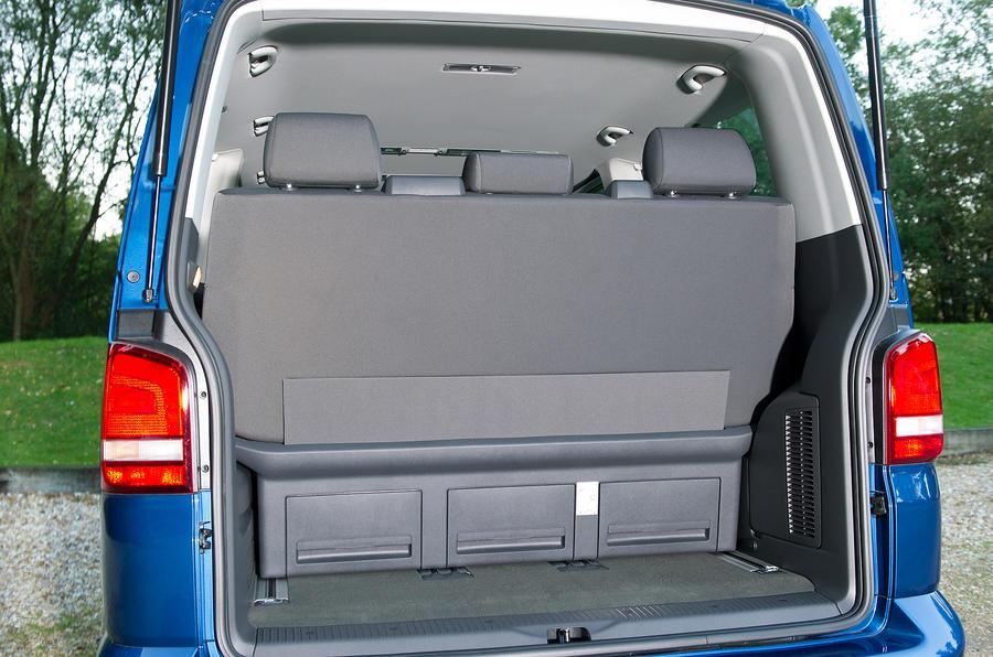 Volkswagen Caravelle boot space