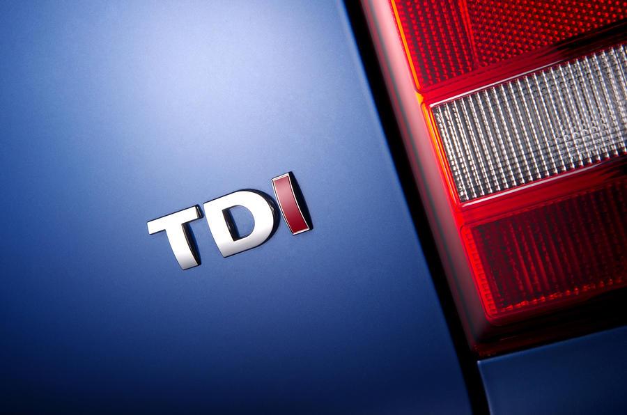 Volkswagen TDI badging