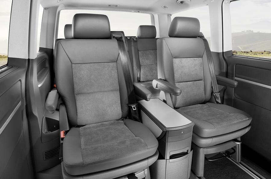 Volkswagen Caravelle airline seats