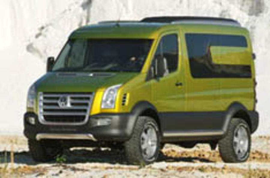 VW's little van-tasy