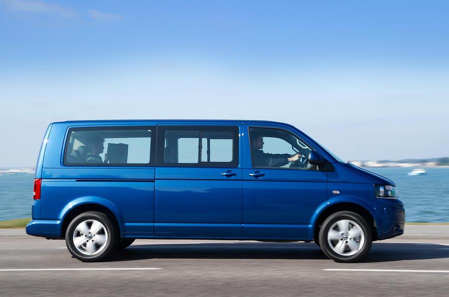 Volkswagen Caravelle side profile