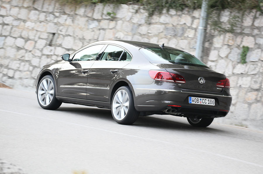 Volkswagen CC rear quarter