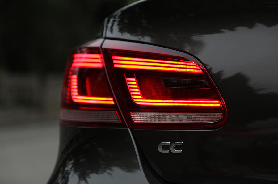 Volkswagen CC rear lights