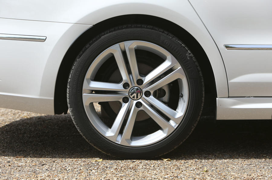 Volkswagen CC alloy wheels