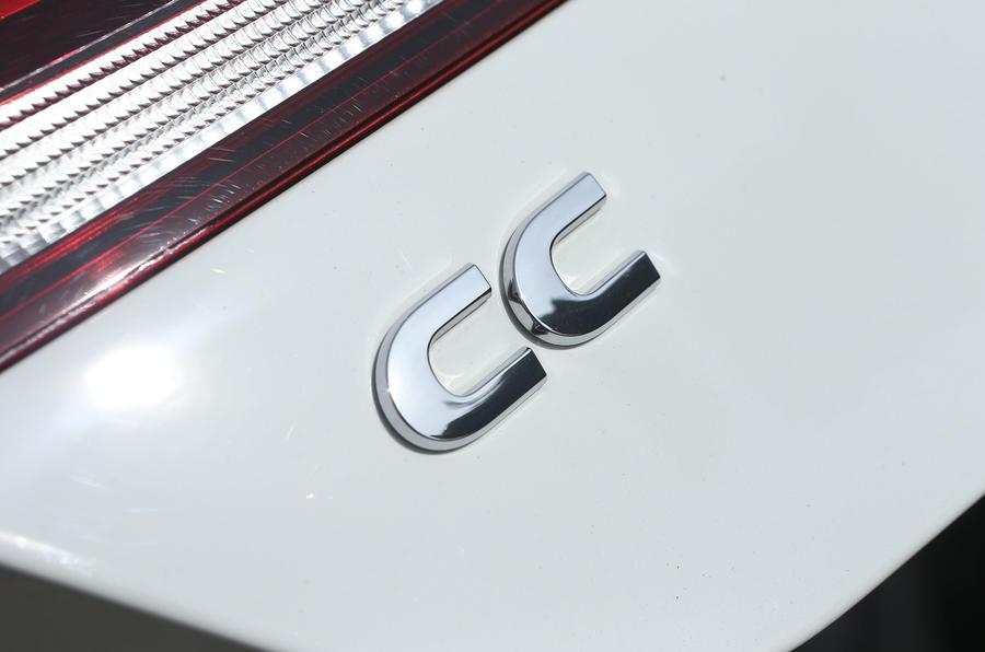 Volkswagen CC badging