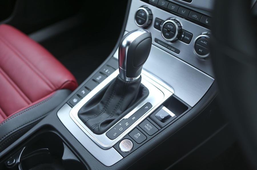 Volkswagen CC DSG gearbox