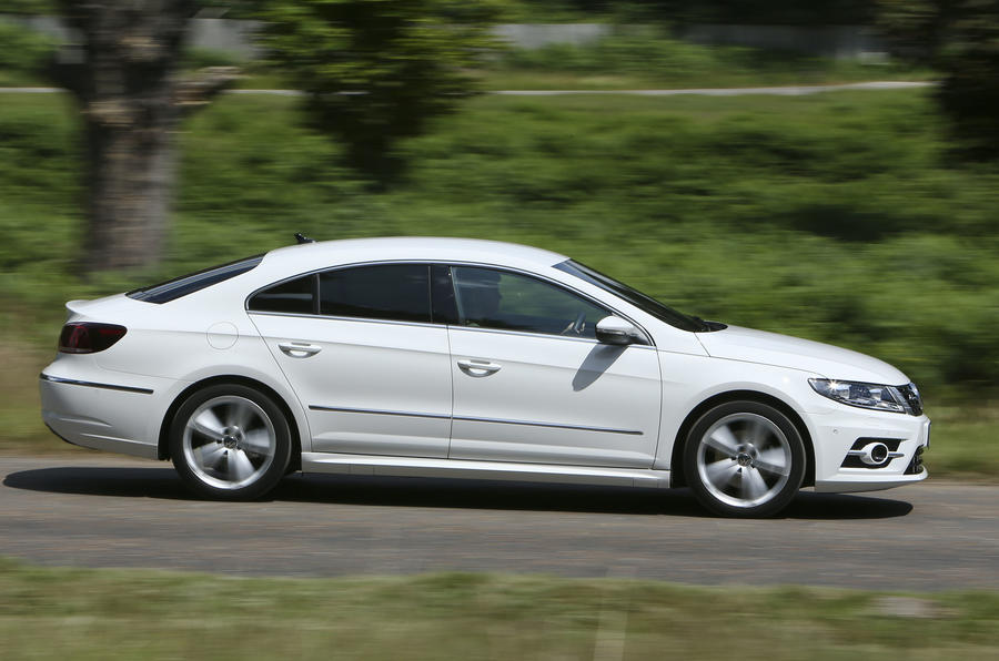 Volkswagen CC side profile