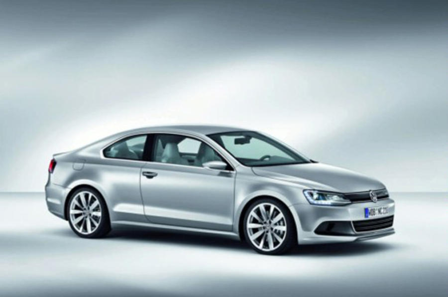 vw hybrid coupe leaks out autocar
