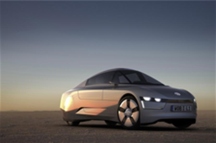 Frankfurt motor show: VW L1 concept