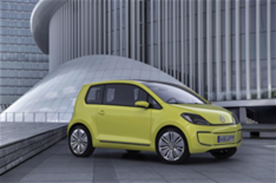 Frankfurt motor show: VW E-Up