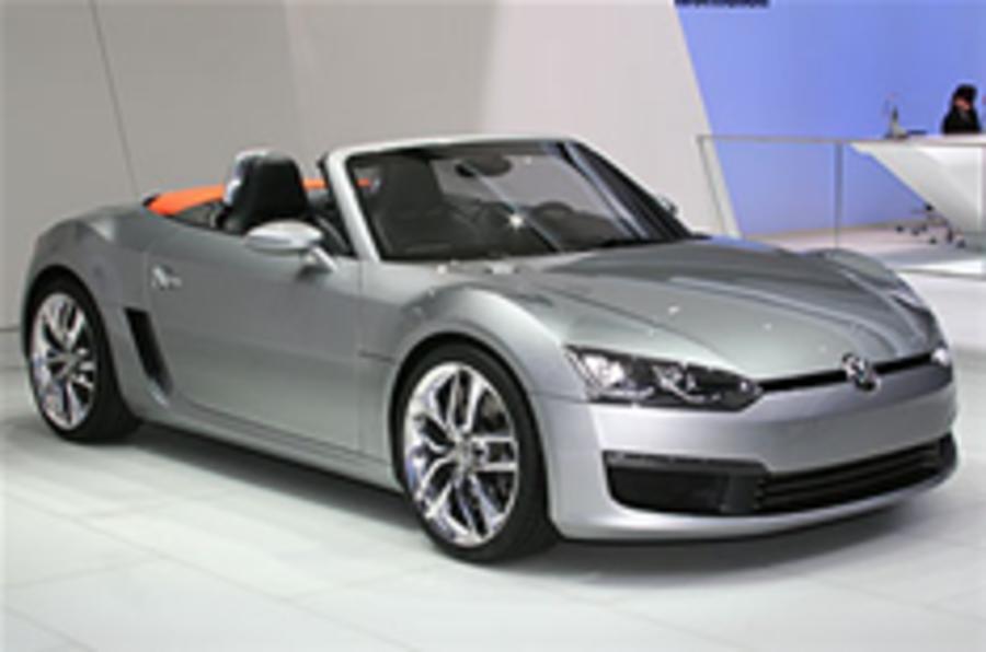 VW BlueSport: not until 2012