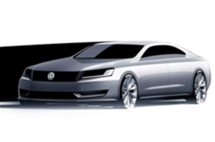 VW's US saloon to go hybrid