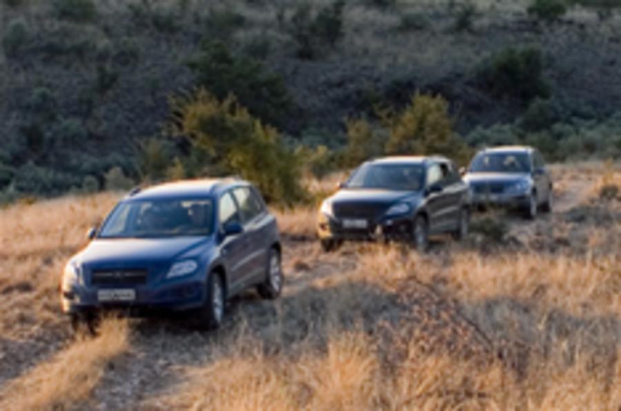 VW Tiguan will be a proper off-roader