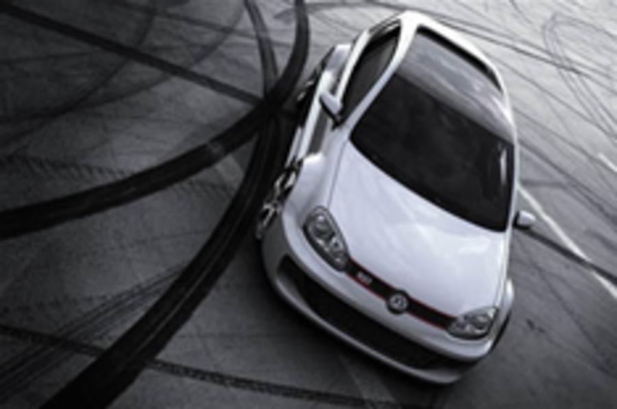 On video: the 202mph Golf W12