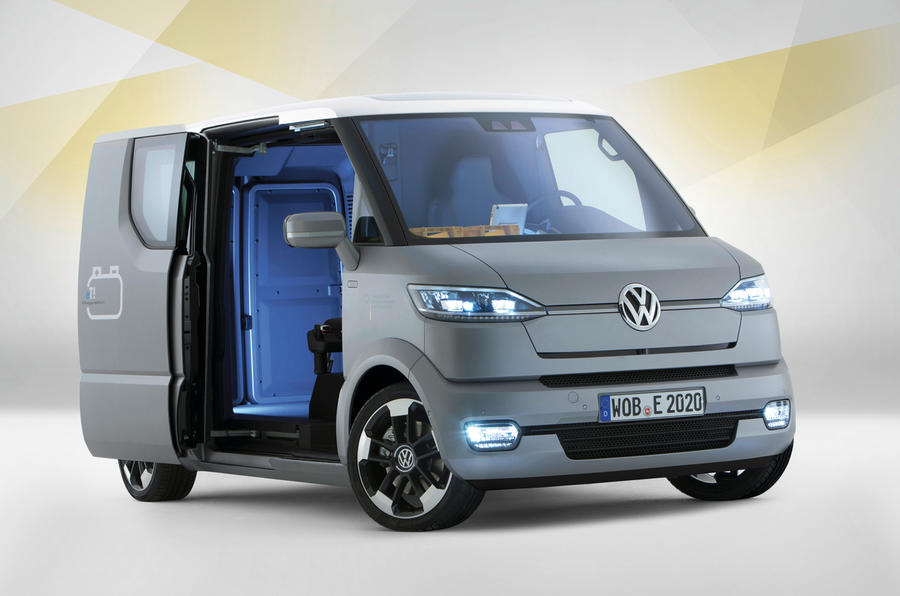 VW's innovative EV van revealed   Autocar