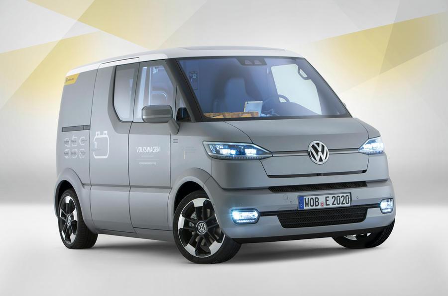 VW's innovative EV van revealed | Autocar