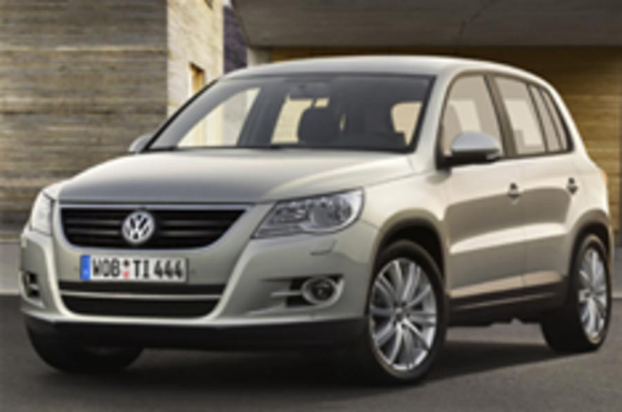 First pictures of VW Tiguan off-roader