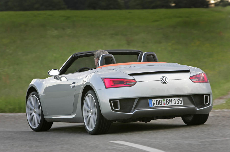 New VW roadster set for 2013