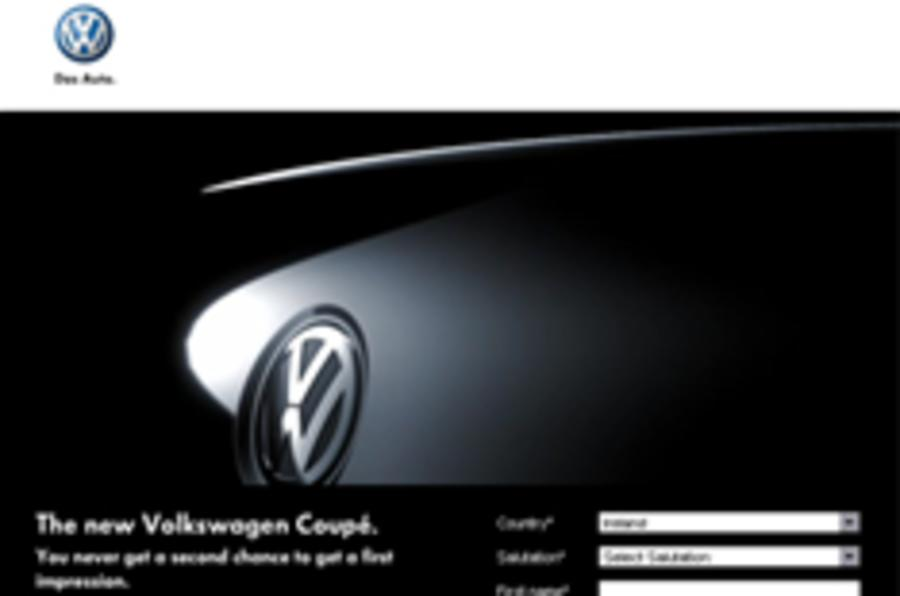 First official peek: Volkswagen Coupe