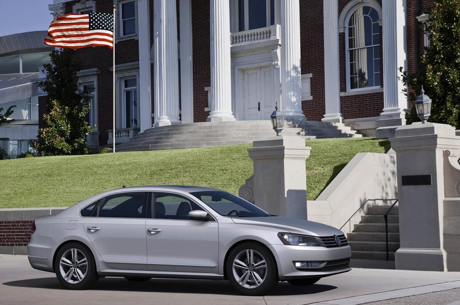 Detroit motor show: VW Passat US-spec