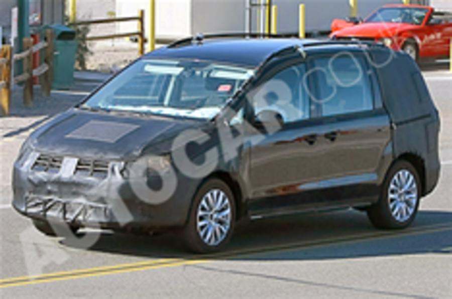 Next VW Sharan spied